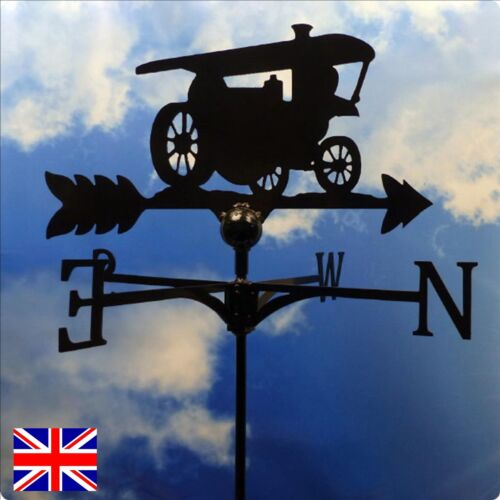 High Quality British Made Steam Engine Weathervane in 2 Sizes /& Finishes 72