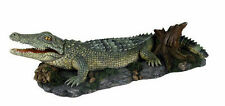 Air Action Krokodil schnappte Aquarium Ornament Aquarium bewegen Dekoration