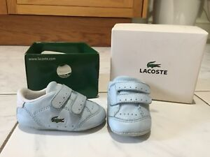 Infant/baby Boys Lacoste Trainers UK2