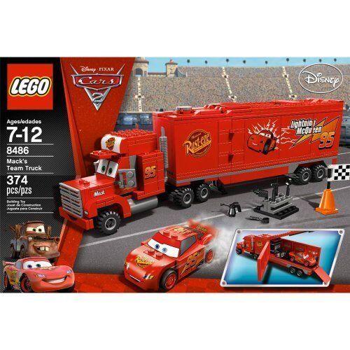 Lego Disney Pixar Cars Mack S Team Truck 8486 For Sale Online Ebay