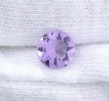 Two 7mm Round Natural Lilac Rose De France Amethyst Natural Gemstone Gem EBS2820