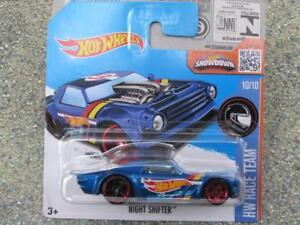 Hot-Wheels-2016-010-250-Notte-Shifter-Blu-Hw-Race-Squadra-Astuccio-K-Nuovo