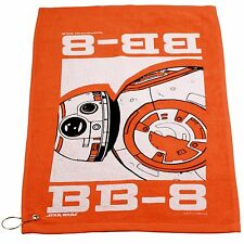 Star Wars BB8 Orange Golf Terry Towel with Corner Grommet
