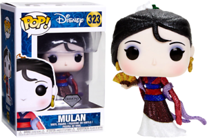 Mulan Diamond Glitter US Exclusive Pop Vinyl--Mulan Vinyl RS Pop
