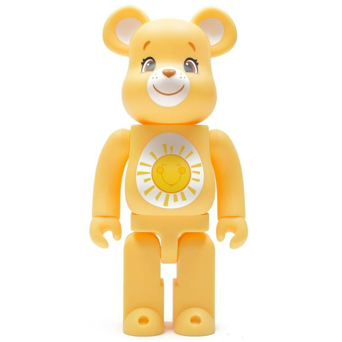 Medicom BE@RBRICK Care Bears Funshine Bear 400% Bearbrick Figure
