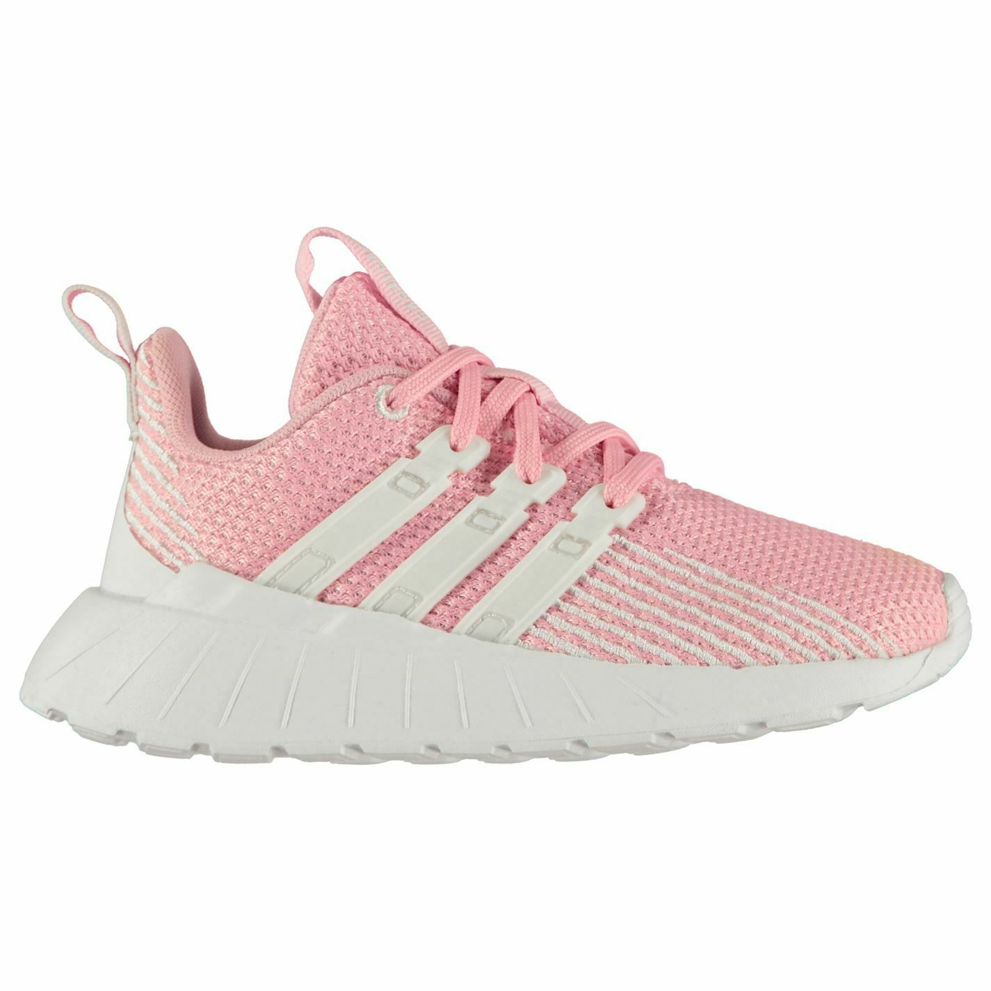 Adidas Questar Flow K Girls Sneakers Runners Laces Fastened Ventilated Mesh
