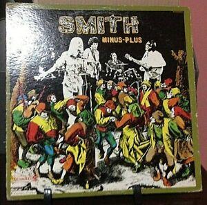 SMITH Minus-Plus Album Released 1970 Record/Vinyl Collection USA