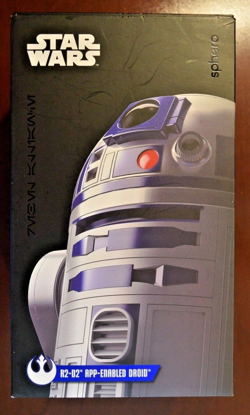 NEW Star Wars by Sphero The Last Jedi R2-D2 App-Enabled Droid