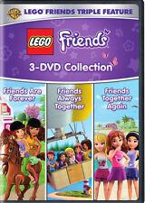 LEGO FRIENDS TRIPLE FEATURE (3 DVD COLLECTION)  - DVD - Region 1