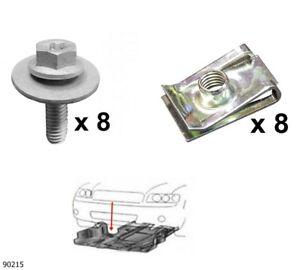 Unterfahrschutz Einbausatz Unterbodenschutz CLIPS Toyota Yaris Bj 05-11