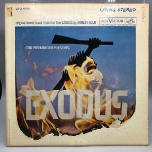 Vintage-Exodus-Film-Soundtrack-Album-Vinyl-Record-LP