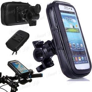 Mobile-Bicycle-Motor-Bike-Handle-Bar-Holder-WaterProof-Rain-Case-For-Cell-Phones