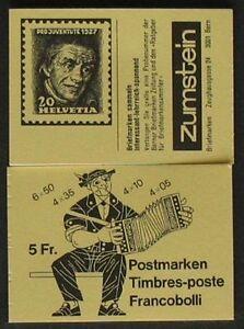 S668a) Suisse markenheftchen 1984 MH 0-78 G ** cachet Pro Juventute-afficher le titre d`origine TtXBg4De-07165101-355822562