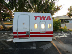 TWA Airplane Fuselage - Trainer - Great for Office Resturant Display or Mancave
