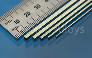 Albion-Alloys-Square-Brass-Rod-305mm-Length-Scratch-Building-Detailing-Railway