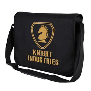 KNIGHT-INDUSTRIES-Rider-Michael-Hasselhoff-Kitt-80s-Umhaengetasche-Messenger-Bag
