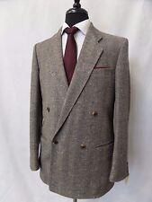 Men's Bespoke Tweed Suit 38R W30 L29 CC4840
