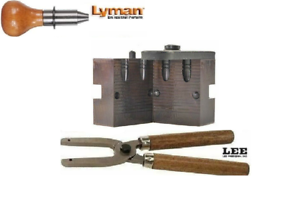 Lyman 2 Cavity Mold RN Gas Check 44 grain 22 Cal w// Lee Handles 2660438+90005