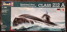 Revell 1/144 German Submarine U212A class Plastic Model Kit 05019