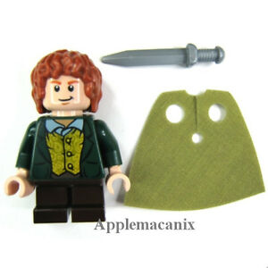 Lego The Hobbit /& The Lord Of The Rings Merry Minifigure Authentic Lego