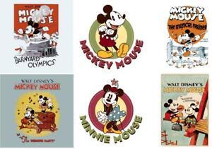 Mickey-Minnie-Mouse-Vintage-Transfer-Iron-on-8x10