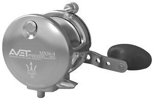 Avet-MXJ6-4-Silver-G2-Lever-Drag-Casting-Reel