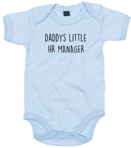 HR Manager Body Costume personnalisé Daddys Little Baby Grow Cadeau