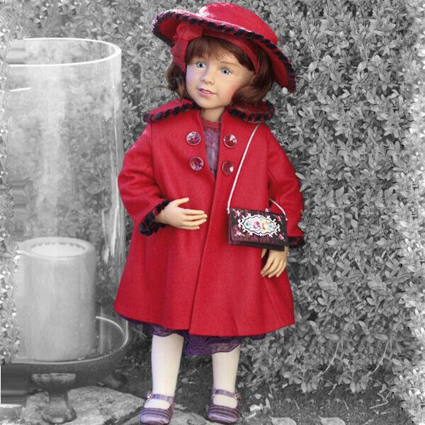 Brigitte, una muñeca de 26.8 Pulgadas por Sissel B. Skille para Gotz