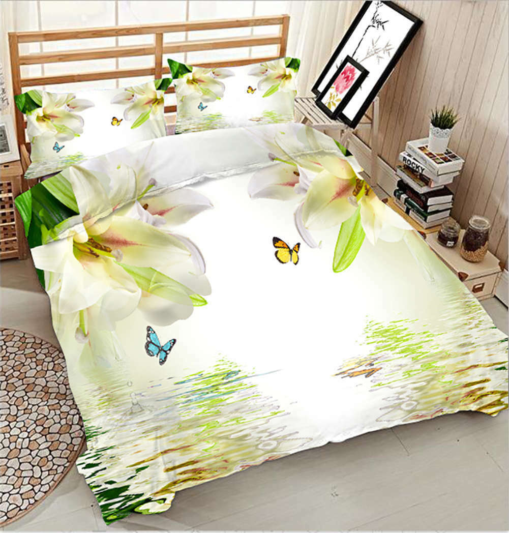Sweet-scented Molly 3D Printing Duvet Quilt Doona Covers Pillow Case Bedding Set