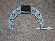 Mitutoyo 103 143 10 Series 103 Metric Analog Outside Micrometer