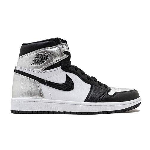 Size 7.5 - Jordan 1 High OG Metallic Silver for sale online   eBay
