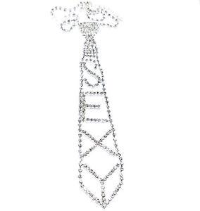 Rhinestone-Choker-Necklace-Tie-Sexy-Austrian-Crystal-Pageant-Prom-Dancer-Jewelry