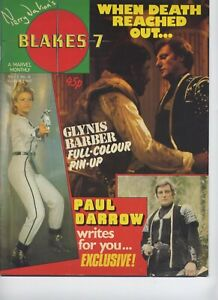 Terry-Nation-039-s-Blakes-7-Magazine-Vol-1-No-6-March-1982-Soolin-Poster