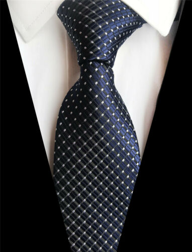 Red Blue Green Silk Tie Men/'s Necktie Striped Checks Plaids Paisley Pattern A051