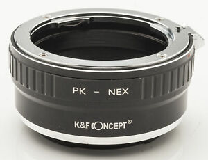 K-amp-F-Concept-pentax-PK-K-Sony-NEX-Lens-Mount-Adapter-Objektivadapter-Pentax-PK