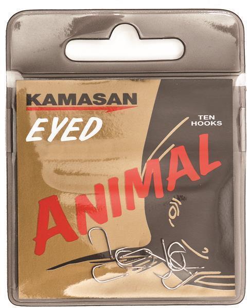 Kamasan Animal Eyed Barbless Hooks ALL SIZES