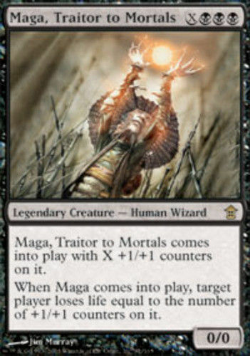 Maga Traitor to Mortals NM MTG Savoirs Of