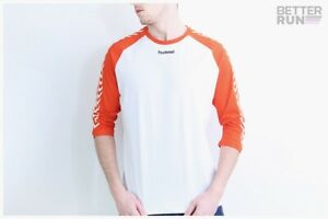 Hummel-Hive-Shirt-Andreas-T-Shirt-White-Orange