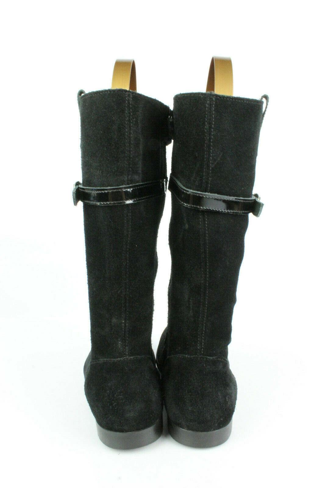 Boots MARALEX MARALEX MARALEX PARIS Black Suede T 37   UK 4 VERY GOOD CONDITION 44462d