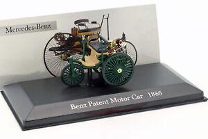 Mercedes-Benz-Patent-Motorwagen-dunkel-grun-Baujahr-1886-1-43-Altaya