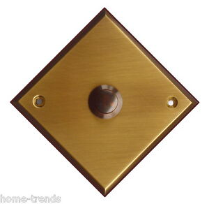 Messing-türklingel-klingel-100 X100 Mm-klingelplatte-klingel-schild-top-qualität Heimwerker