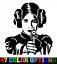 Star Wars Princess Leia Vinyl Decal Truck Car Sticker Laptop
