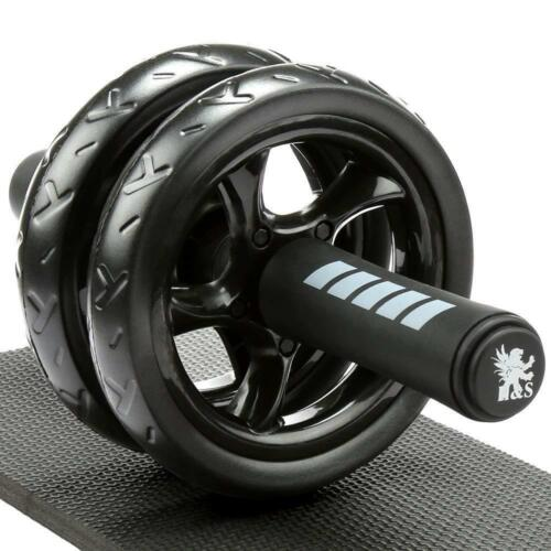 Abdominal Exercise Ab Roller Body Fitness Gym Training Abs Wheel Knee Pad Mat