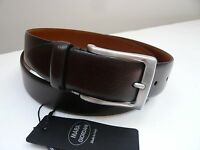 Mara Giordani (made In Italy) Mens Leather Belt Size 34, 36, 38,