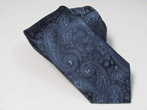 Mid-Century Blue Skinny Tie by Wembley