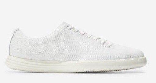 b1a1e3308b0 Cole Haan Men s Grand Crosscourt White Knit Fashion SNEAKERS 11.5m for sale  online