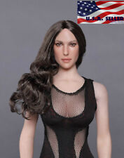 "1//6 Beauty head sculpt GC018 C for 12/"" female figure Phicen Kumik hot toys ❶USA❶"