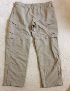 0d87cccf24 Mens The North Face Paramount Peak II Convertible Hiking Pants Beige ...
