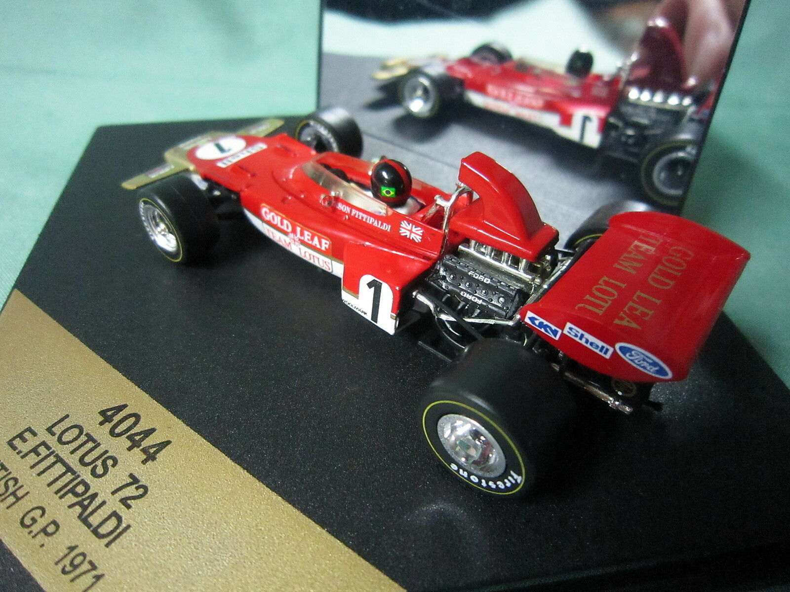 DV6048 QUARTZO VITESSE LOTUS 72 ANGLETERRE GP GP GP 1971 E FITTIPALDI 4044 1 43  F1 8e4aac