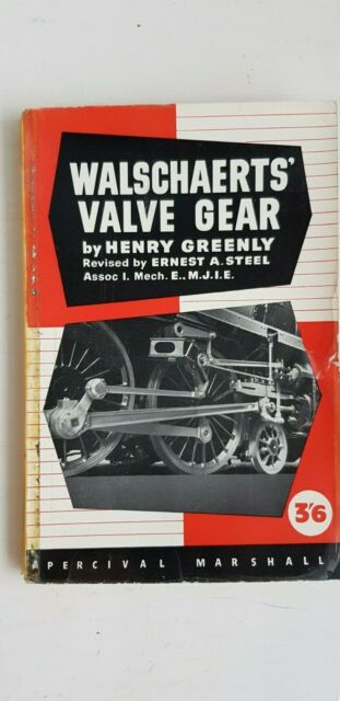 1934 Walschaerts Value Gear Henry Greenly Percival Marshall Paperback